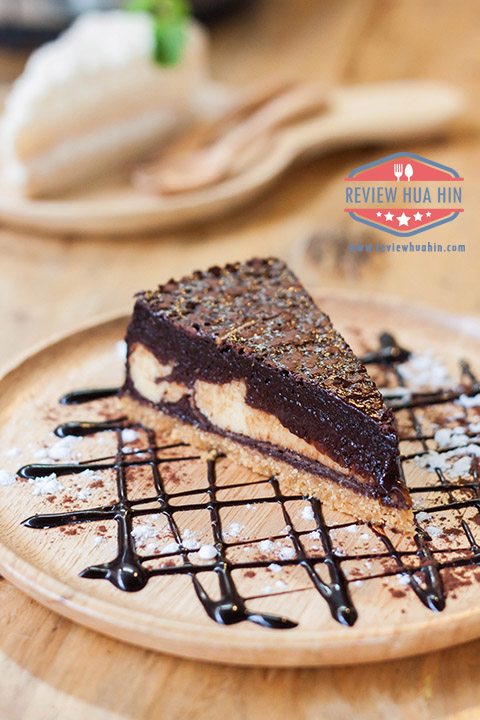 Brownie Cheese Pie