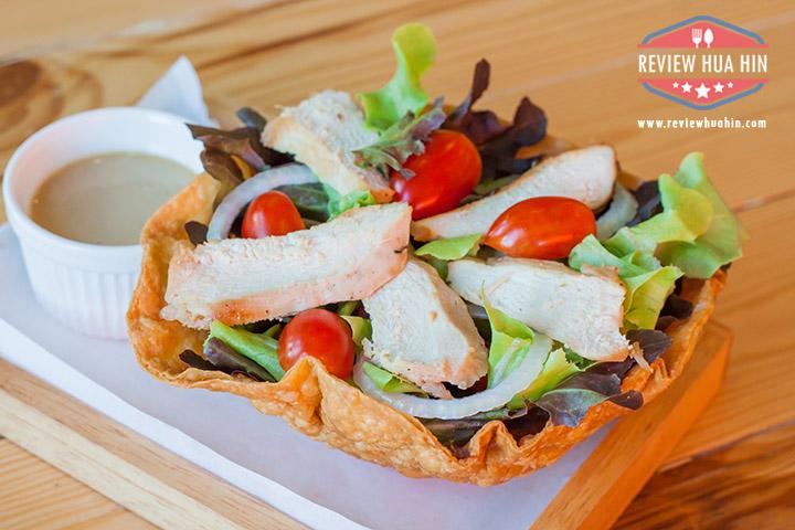 Chicken Salad in Golden Bowl