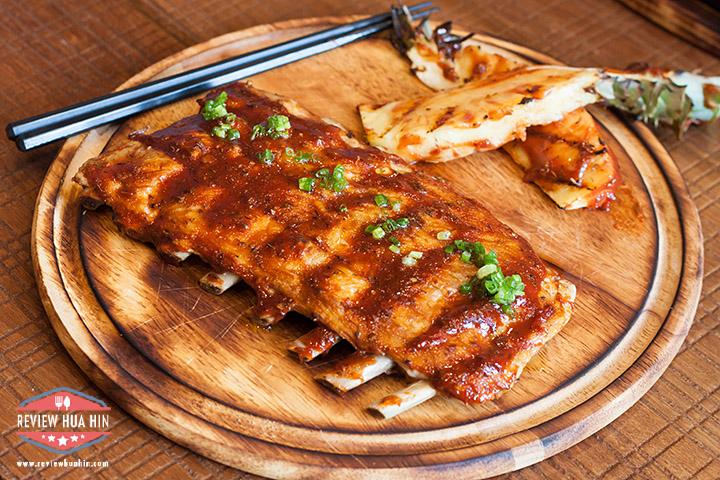 Spicy Roasted Bier-B-Q Pork Ribs