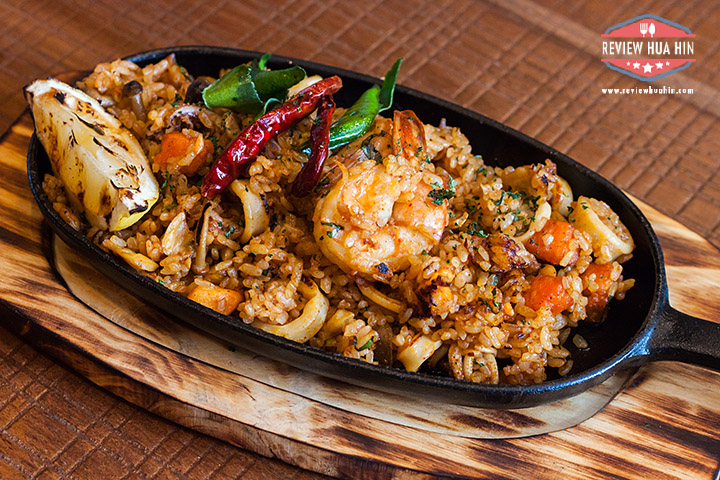 Sizzerling Seafood Fried Rice